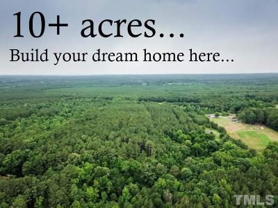 Chatham County Residential Lots & Land For Sale: 1934 Walter Bright Road