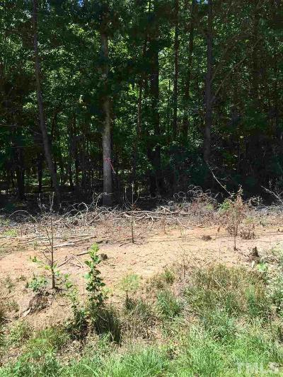 Wake County Residential Lots & Land For Sale: 9612 Hunter Road
