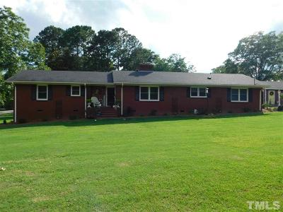 Zebulon Single Family Home For Sale: 301 N Rotary Drive