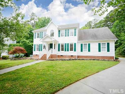 Raleigh Single Family Home For Sale: 10305 Tanners Mill Place