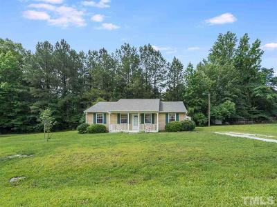 Durham Single Family Home Contingent: 2308 Sundial Circle