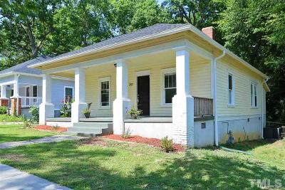 Durham Single Family Home For Sale: 307 N Guthrie Avenue