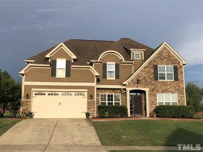 Garner Single Family Home For Sale: 506 Adams Point Drive