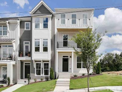 Raleigh Townhouse For Sale: 626 Watauga Street