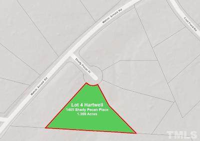 Wake County Residential Lots & Land For Sale: 1405 Shady Pecan Place