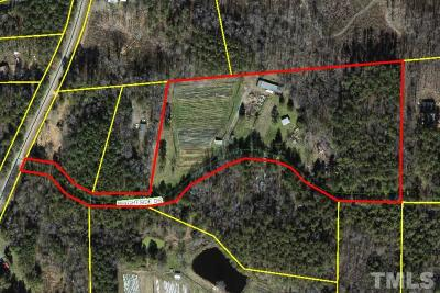 Chapel Hill Residential Lots & Land For Sale: 1 Butler Road