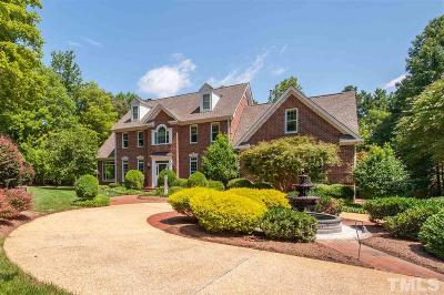 Raleigh Single Family Home Contingent: 516 Pendleton Lake Road