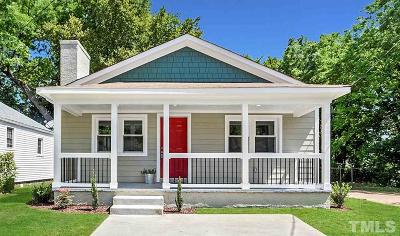 Raleigh Single Family Home For Sale: 1313 Pender Street