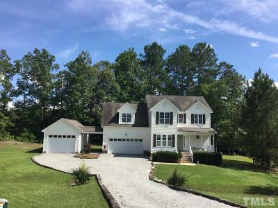 Angier Single Family Home For Sale: 503 Cabin Grove Court