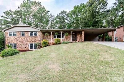 Raleigh Single Family Home For Sale: 920 Merwin Road