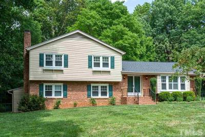 Raleigh Single Family Home For Sale: 6614 Brookhollow Drive