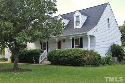 Wake Forest Single Family Home Pending: 1104 Buttercup Lane