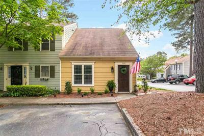 Raleigh Townhouse Pending: 2005 Township Circle