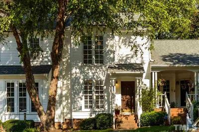 Cary Townhouse For Sale: 105 Planetree Lane