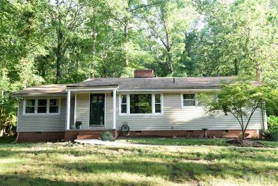 Durham Single Family Home For Sale: 1204 Goodwin Road