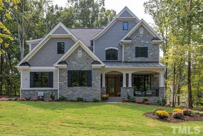 Wake Forest Single Family Home For Sale: 214 Stone Park Drive