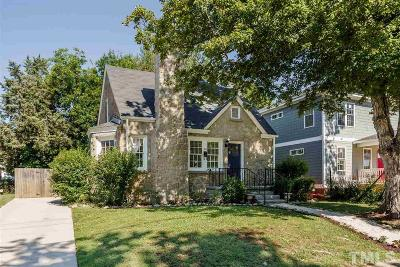 Raleigh Single Family Home For Sale: 102 Pettigrew Street
