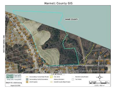 Harnett County Residential Lots & Land For Sale: 2470 Rawls Church Road
