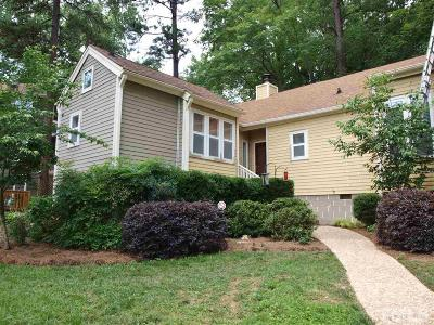 Raleigh Townhouse For Sale: 5716 Sentinel Drive