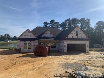 Angier Single Family Home Contingent: 107 Regal Pond Drive