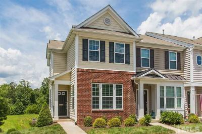 Raleigh Townhouse For Sale: 724 Cupola Drive