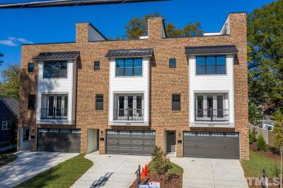 Durham Townhouse For Sale: 216 W Geer Street #B