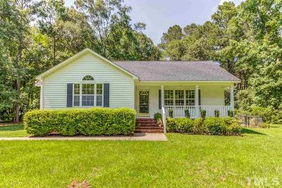Johnston County Single Family Home Contingent: 32 Sommerset Drive
