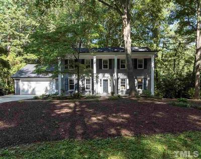 Raleigh Single Family Home For Sale: 4800 Connell Drive