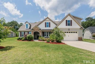 Garner Single Family Home Contingent: 26 Langdon Pointe Drive