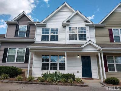 Raleigh Townhouse For Sale: 7805 River Field Drive