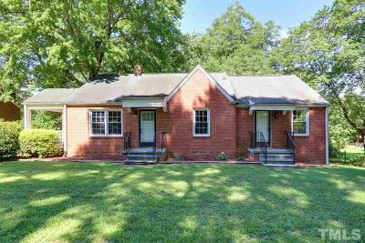 Garner Single Family Home For Sale: 208 Hilltop Avenue