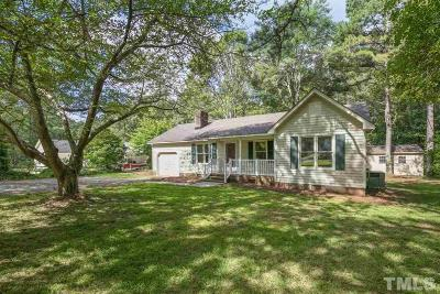 Clayton Single Family Home For Sale: 2020 Spring Valley Drive
