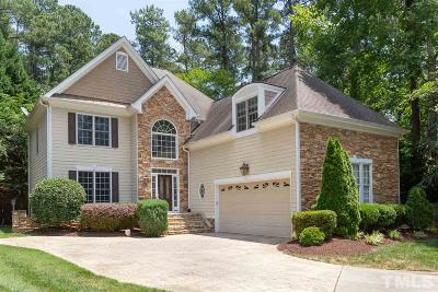 Wake County Single Family Home For Sale: 2501 Tuscany Woods Court