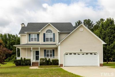 Wake County Single Family Home For Sale: 1036 Blue River Farm Drive
