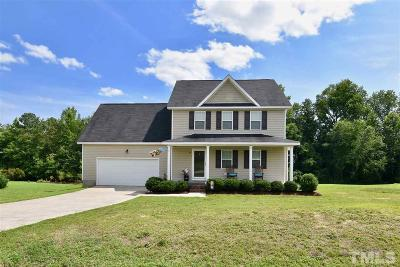 Angier Single Family Home For Sale: 134 Langston Ridge Drive