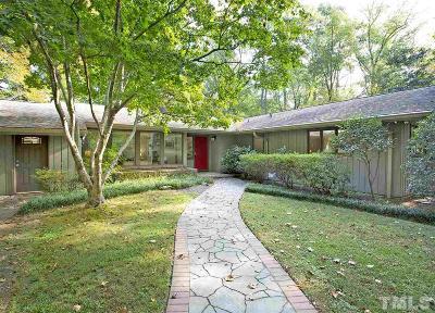 Chapel Hill Single Family Home For Sale: 325 Azalea Drive