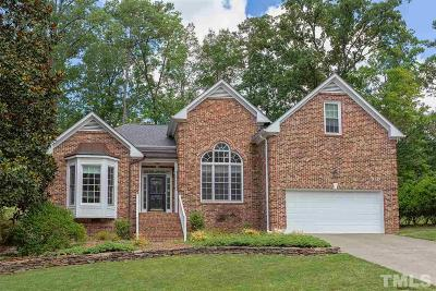Durham County Single Family Home Contingent: 4808 Carlton Crossing