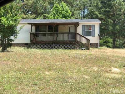 Franklin County Manufactured Home For Sale: 45 Buckridge Road