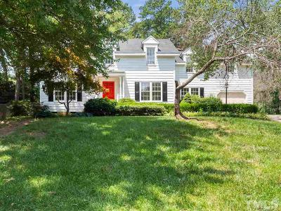Raleigh Single Family Home For Sale: 6019 Bramblewood Drive