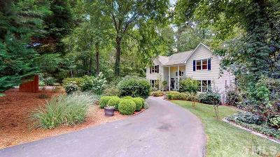 Durham Single Family Home Contingent: 3545 Hope Valley Road