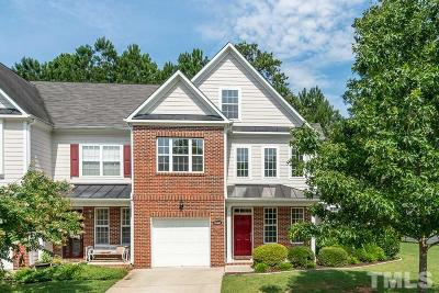 Raleigh Townhouse For Sale: 10467 Blue Dun Way