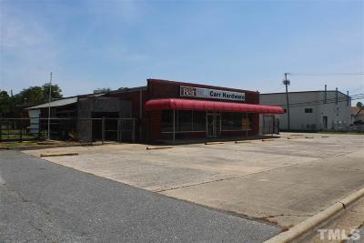 Harnett County Commercial For Sale: 311 E Edgerton Street