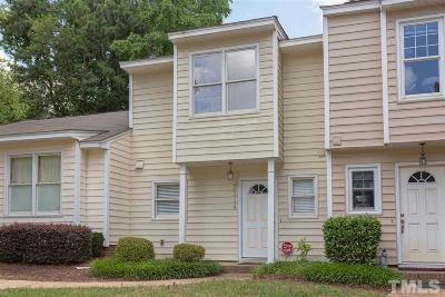 Raleigh Townhouse For Sale: 3314 Comstock Road