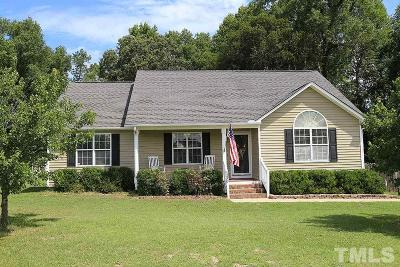 Willow Spring(s) Single Family Home For Sale: 173 Edmondson Drive