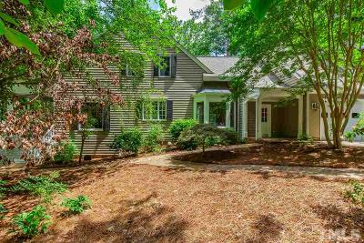 Chapel Hill Single Family Home For Sale: 124 Red Bud Lane