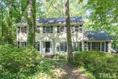 Chapel Hill Single Family Home For Sale: 604 Sugarberry Road