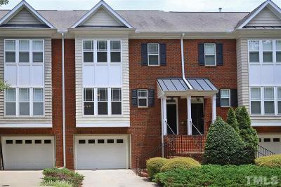 Carrboro Townhouse For Sale: 231 Rose Walk Lane