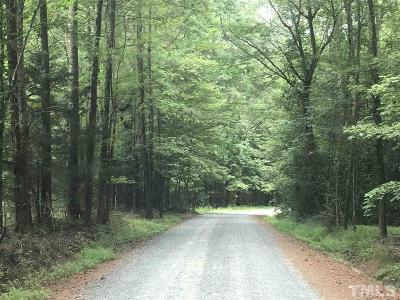 Chatham County Residential Lots & Land For Sale: 420 Dragonfly Trail