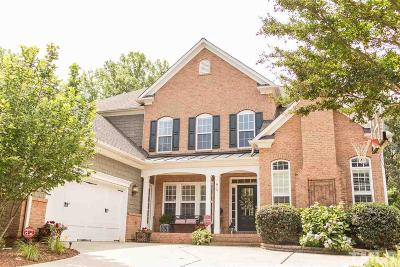 Wake County Single Family Home For Sale: 815 Huntsworth Place