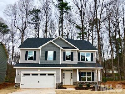 Youngsville Single Family Home Pending: 500 Richlands Cliff Drive